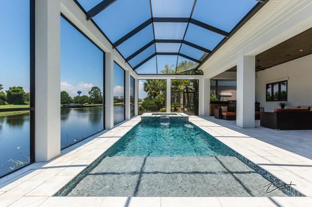 Regatta bay mediterranean patio miami by bob for Bob chatham house plans