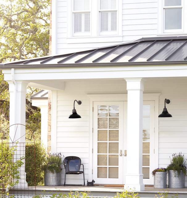 Rejuvenation Exterior Lighting & Accessories Farmhouse Patio portl