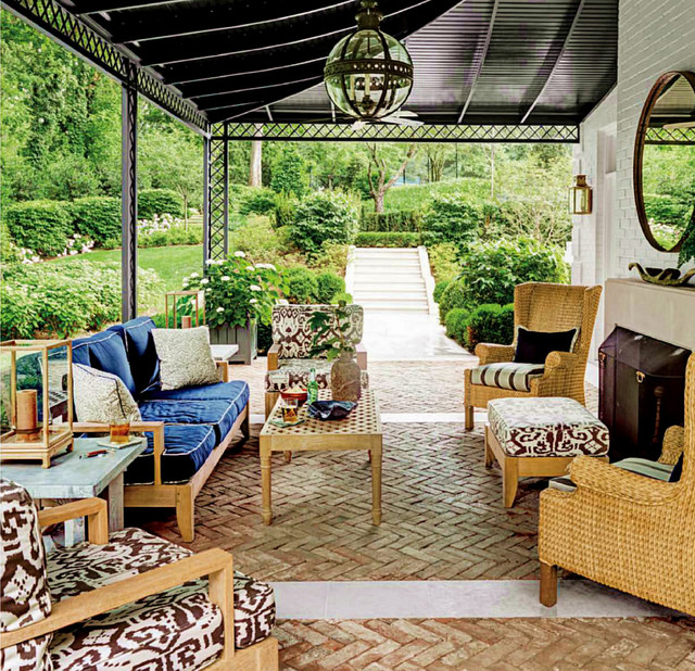 Relaxed Patio in Nashville