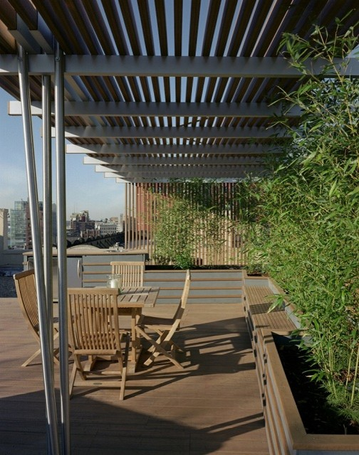 Residences client names withheld for Pergola aluminium design