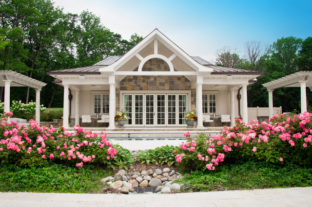 Residential House Landscaping : Residential home