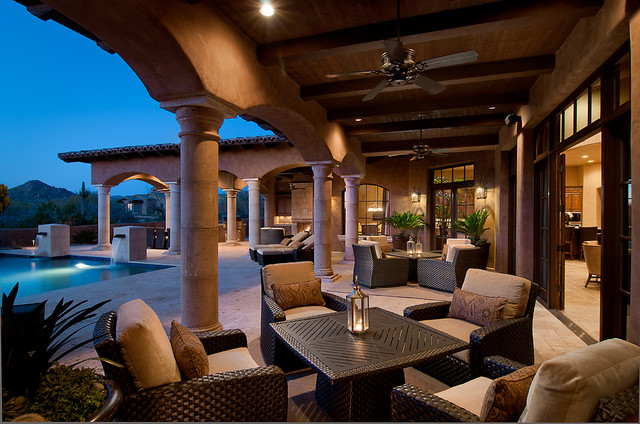Residential Mediterranean Patio Phoenix By Ownby