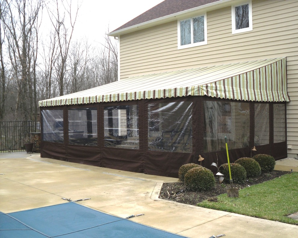 Residential Patio Awnings - Traditional - Patio - Columbus ...