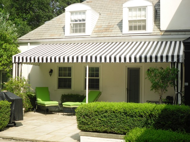 Backyard Awning Design :  Patio Awnings  Modern  Patio  other metro  by Capital City Awning