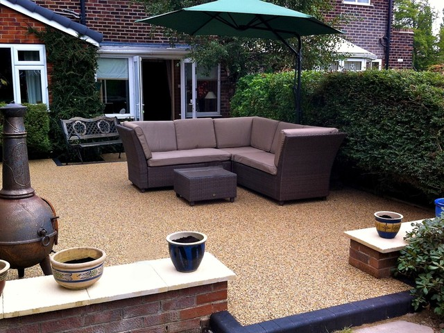 Resin Patio - Contemporary - Patio - other metro - by The ...
