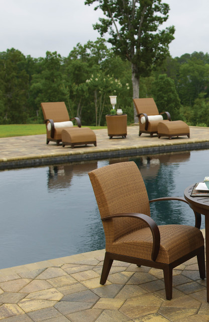 Resin wicker and aluminum outdoor lounge chairs for Outdoor furniture birmingham al