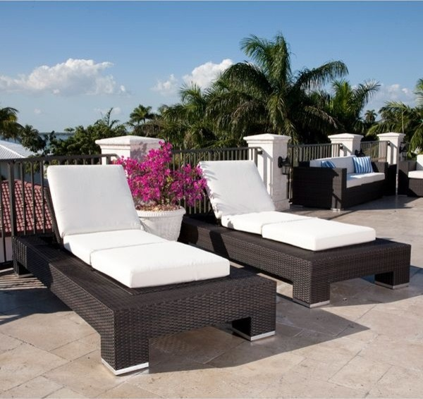 Resort Collection Outdoor Chaise Lounge outdoor-chaise-lounges