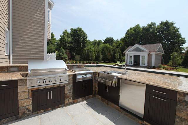 30 excellent u shaped outdoor kitchen plans for U shaped outdoor kitchen designs