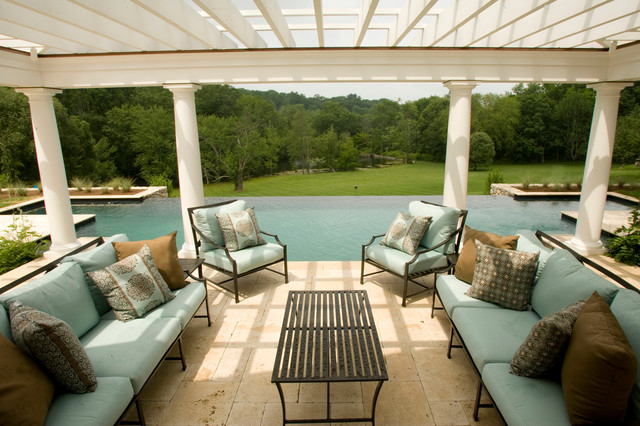 Resort Living At Home traditional-patio