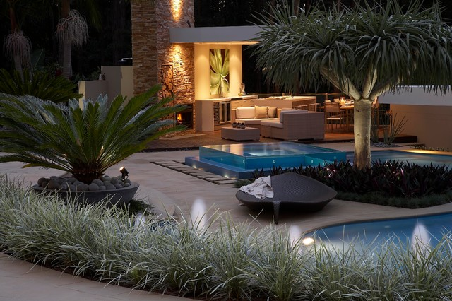 resort style living contemporary patio sydney by