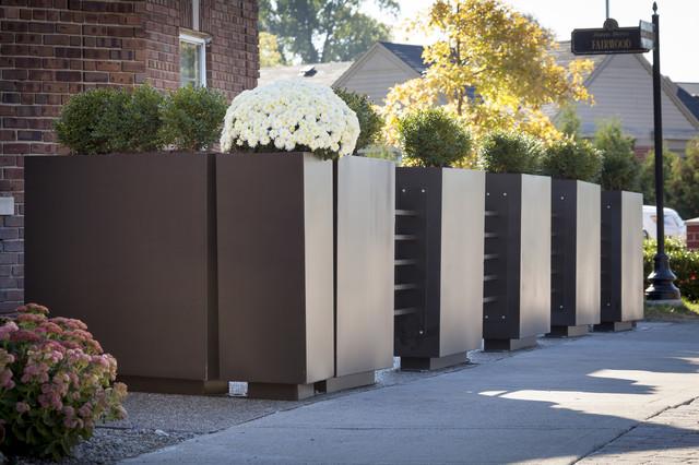 Nauhuricom restaurant patio fence neuesten design for Outdoor küchenschrank