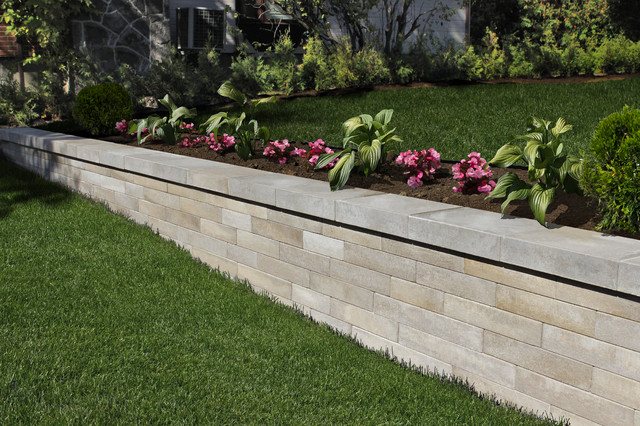 Retaining Wall Products Modern Patio Montreal By