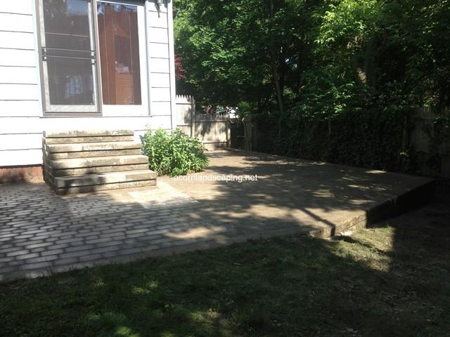 Retaining Wall Repair, Patio Repair, Monroe County Rochester NY traditional-patio