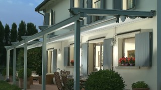 Retractable Awning over deck - Contemporary - Patio - sydney