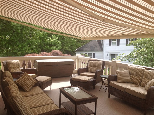 Retractable Awnings traditional patio