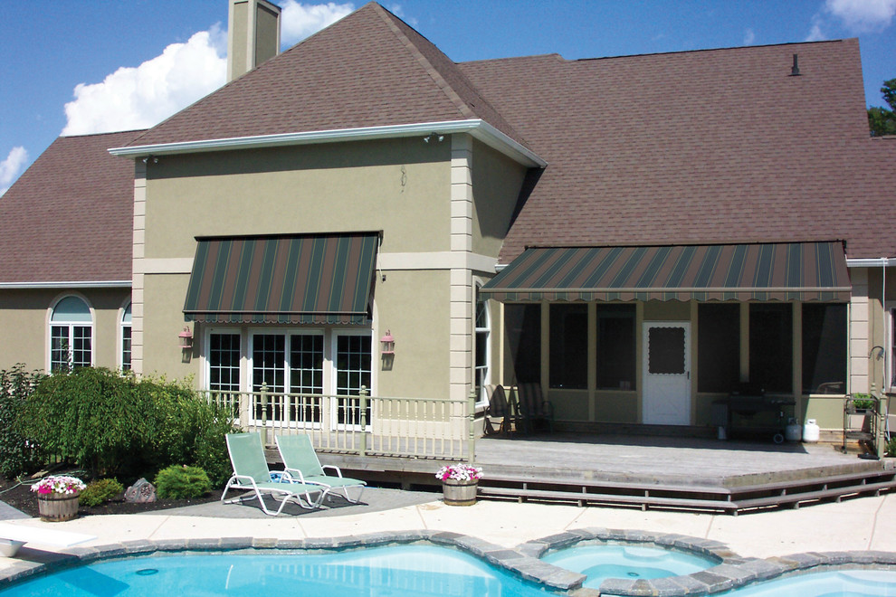 Retractable Awnings - Traditional - Patio - Chicago - by ...
