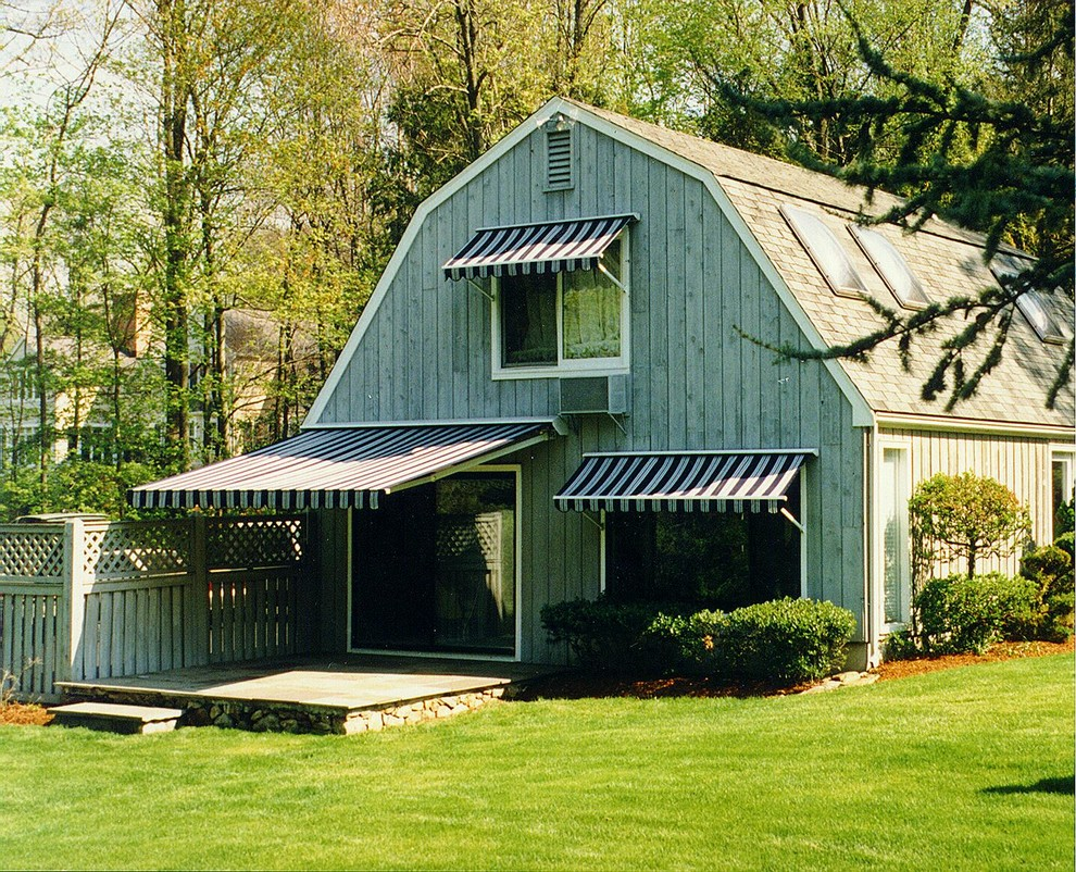 Retractable Awnings - Patio - Boston - by Shade And ...