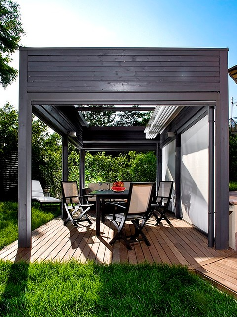 Retractable Roof Structures Modern Patio Other By