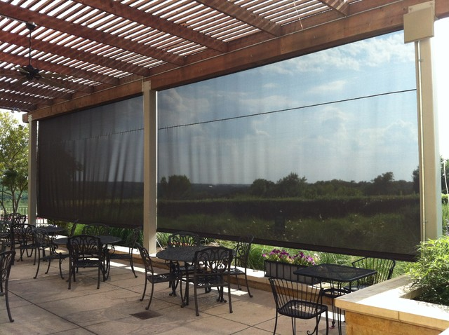 Retractable Screens And Window Walls Contemporary
