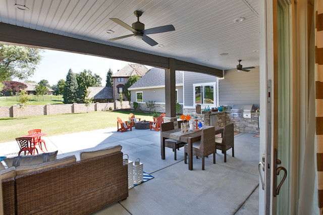 Rideout Residence transitional-patio