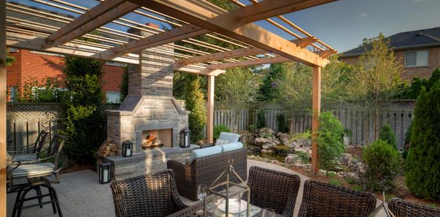 Ridge Landing Landscape traditional-patio
