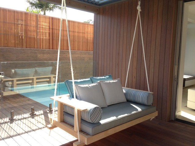 River house noosa beach style patio sunshine coast for Outdoor furniture noosa