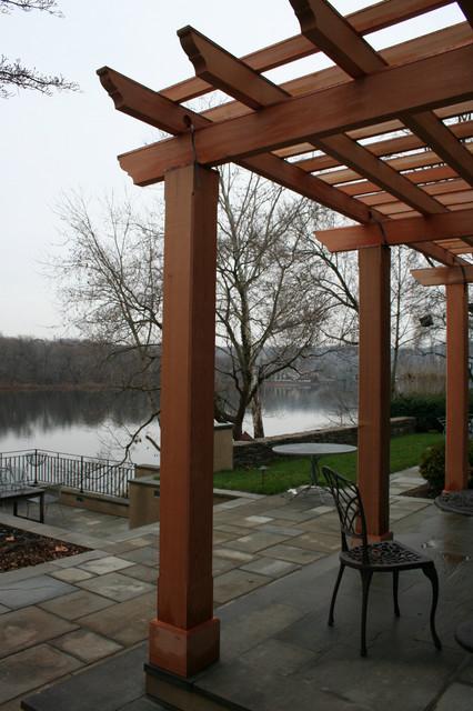 Riverside Landscape traditional-patio