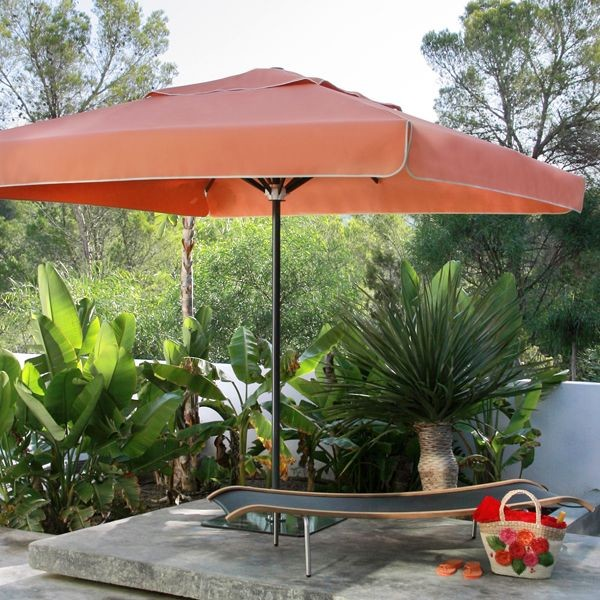 Riviera Square Patio Umbrella Modern Patio