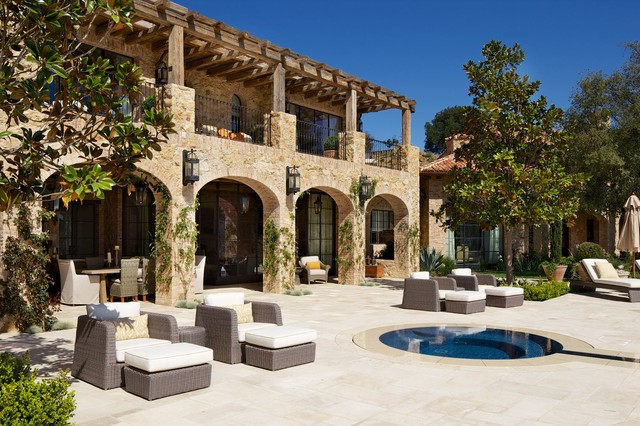 Robb Report Ultimate Home 2013 Rustic Patio