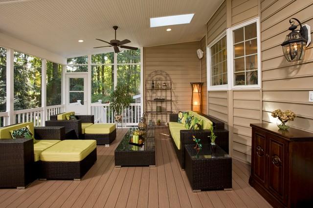 Schneiderman Retreat traditional-patio