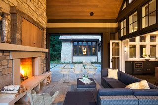 Rolling Green Cottage - Transitional - Patio - Minneapolis