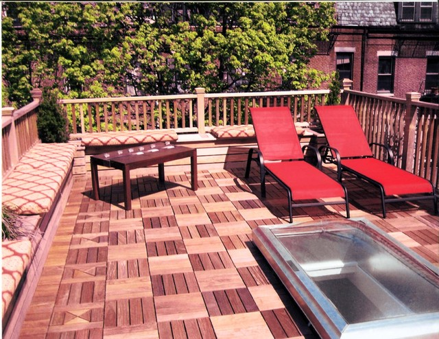 Roof Deck traditional-patio