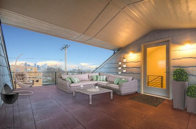 Roof Patio of 2911 W 20th Ave Denver reneedixon kw