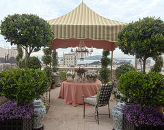 Roof Terrace by Frank Holbrook Design traditional-patio