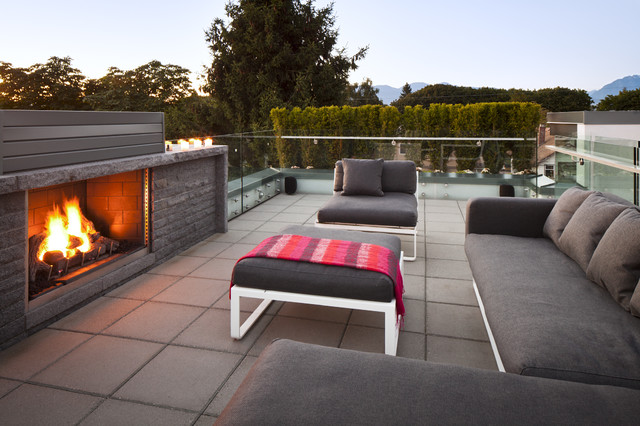 Roof Top Deck modern patio