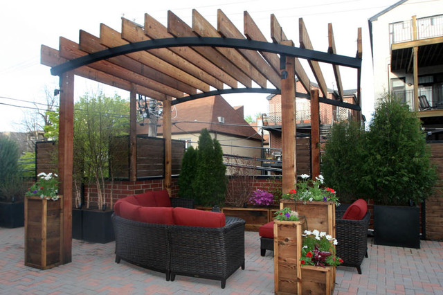 Rooftop Garden Lincoln Park Chicago Traditional