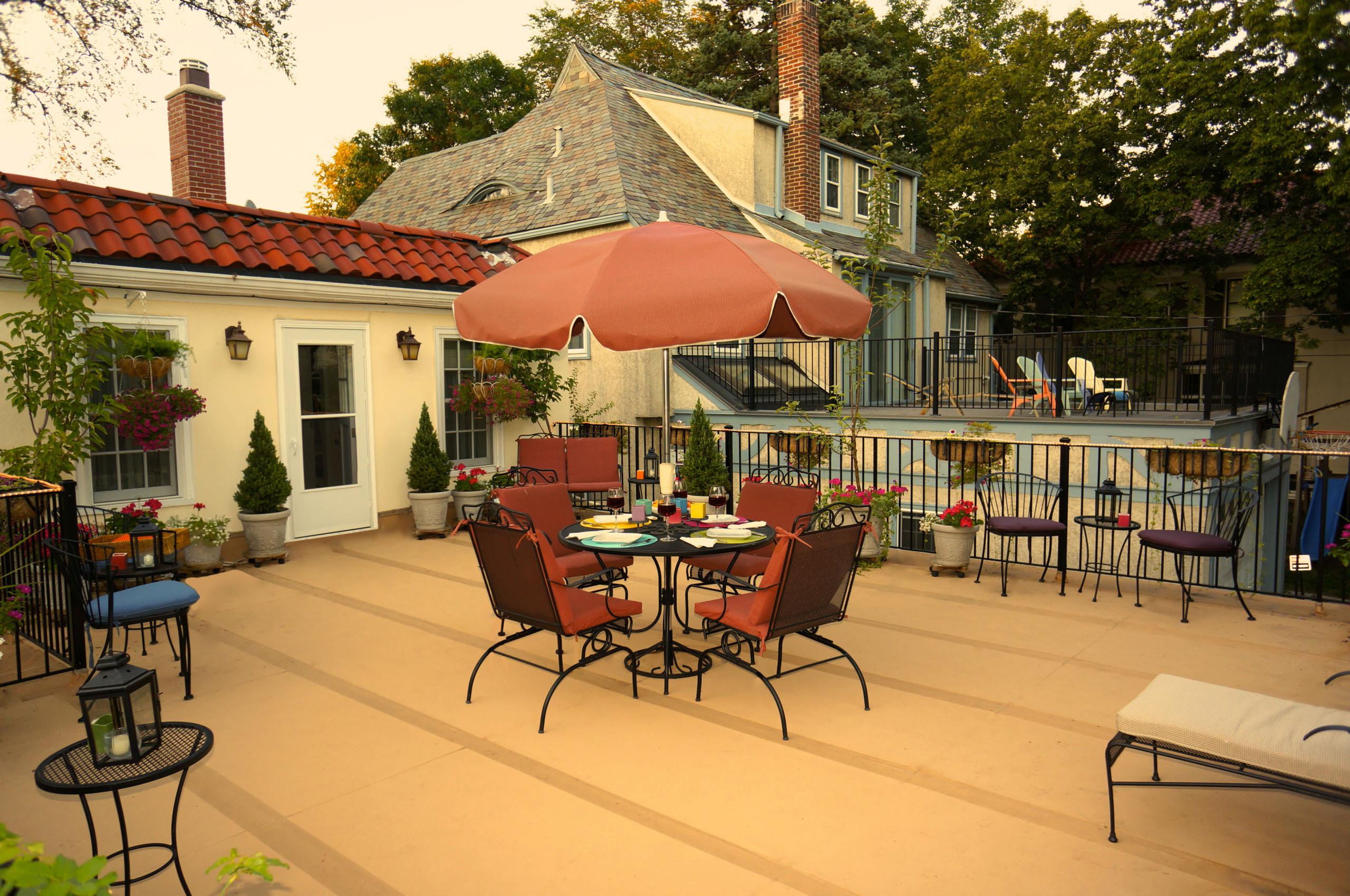 Rooftop Garden Patio