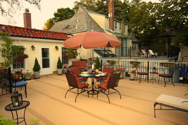 Rooftop Garden Patio eclectic-exterior