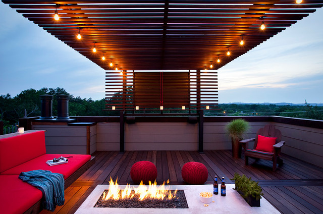 Amazing Rooftop Outdoor Living Modern Patio