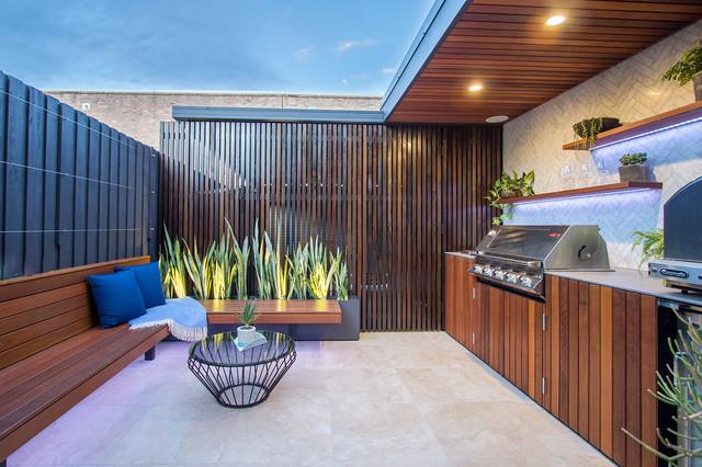 Rosebery contemporary-patio