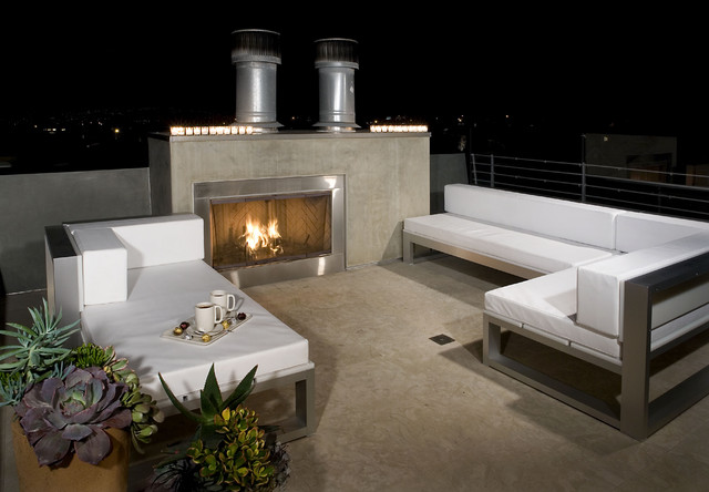 Rosenthal Residence Modern Patio Los Angeles By