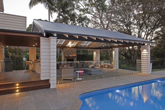 Roseville pavilion contemporary patio sydney by for Pool design roseville ca