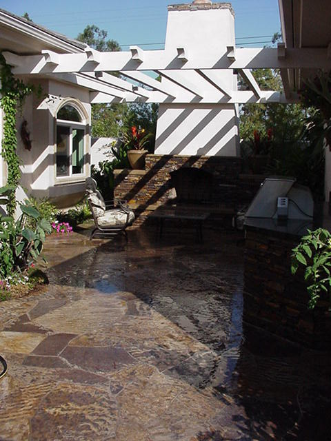 Rowe Residence, Costa Mesa CA traditional-patio