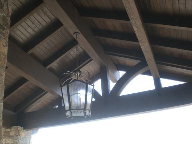 Rustic Craftsman rustic-patio