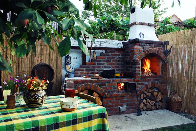 Rustic Summer Kitchen