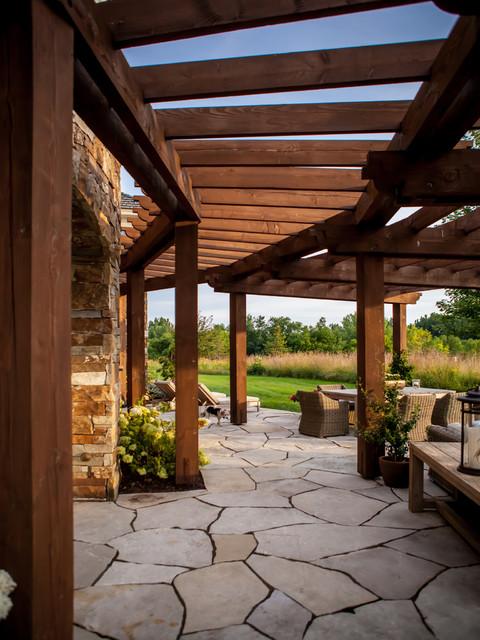 Rustic Veranda Patio