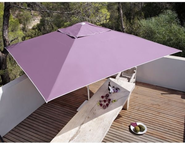 Samara Rectangular Patio Umbrella - Outdoor Umbrellas - chicago ...