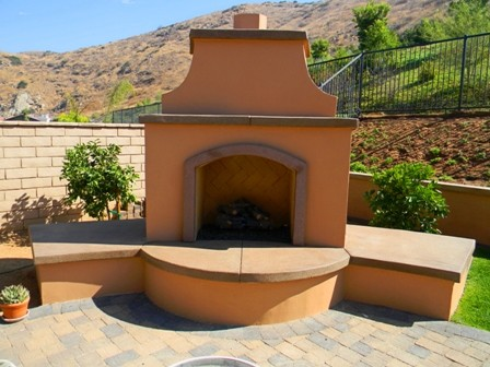 San Diego 2012 Outdoor Fireplaces  patio