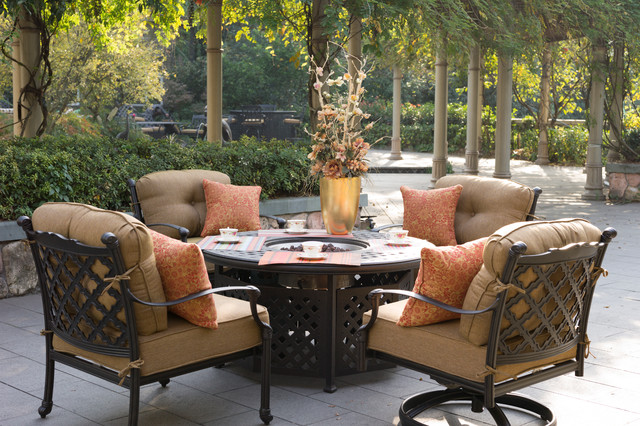 San Diego Outdoor Furniture Traditional Patio San