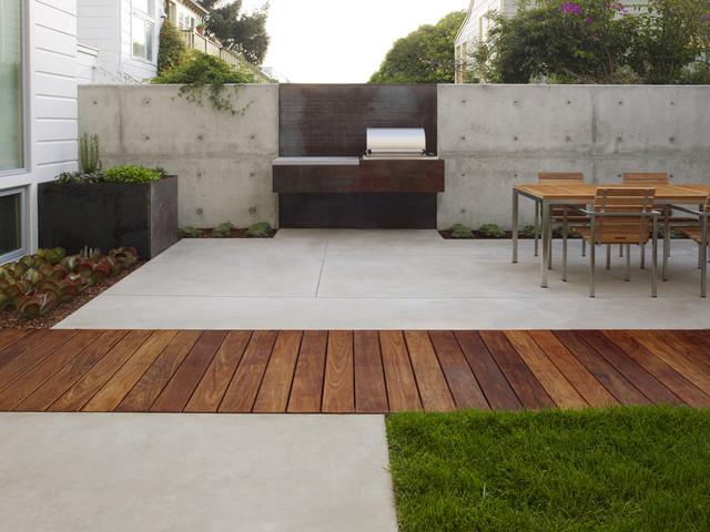 San Francisco Dining Terrace contemporary-patio